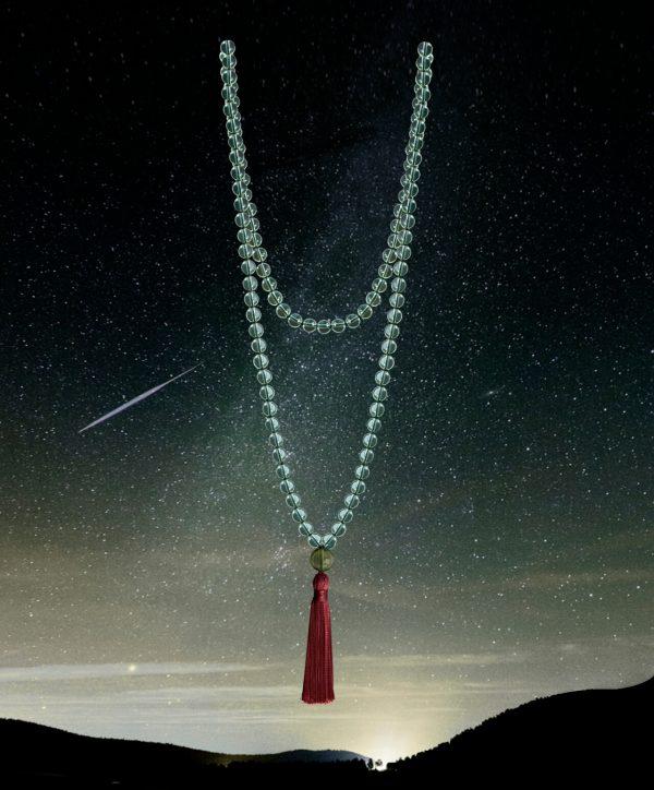 bergkristall meteorit kette